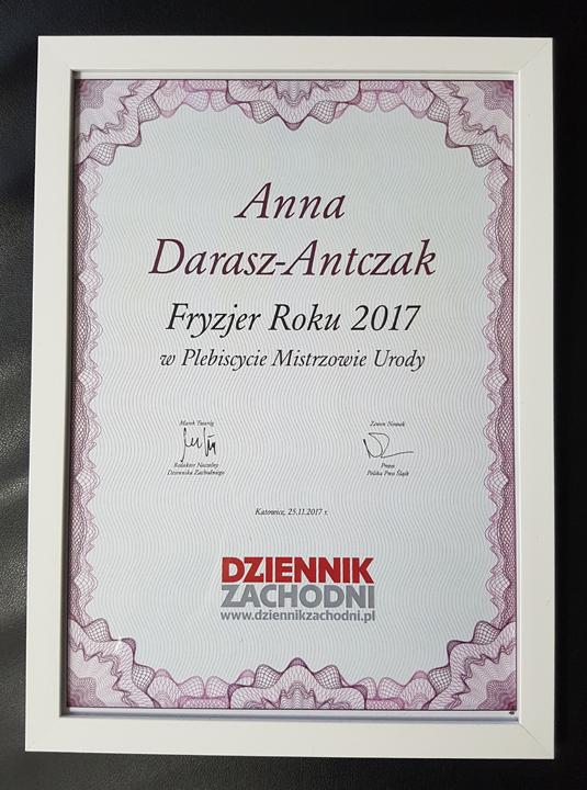 Salonik Fryzjerski Asymetria Darasz Antczak Anna